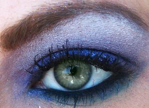 Líčení zelených očí