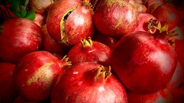 Jak jíst granátové jablko?