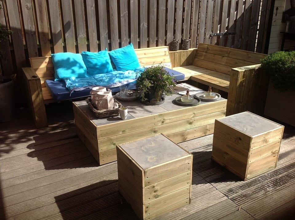 Jak uskladnit zahradní nábytek?