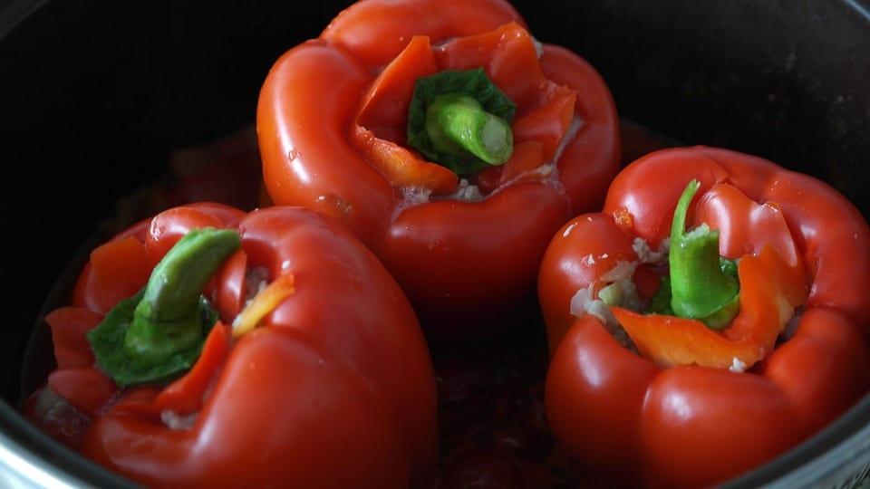 Jak udělat plněné papriky na mexický způsob?