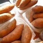 Hranolky v troubě z čerstvých brambor