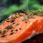 Jak udělat lososa v tvarohovém těstě?