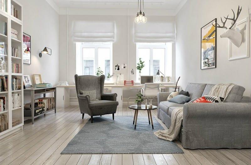 Nejen zima udává prim bydlení ve skandinávském stylu!
