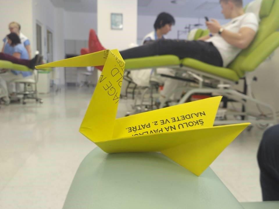 Příběh o skupinovém darování krve PELICAN