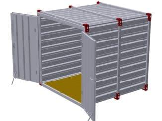 Skladovací kontejnery s multifunkčním využitím
