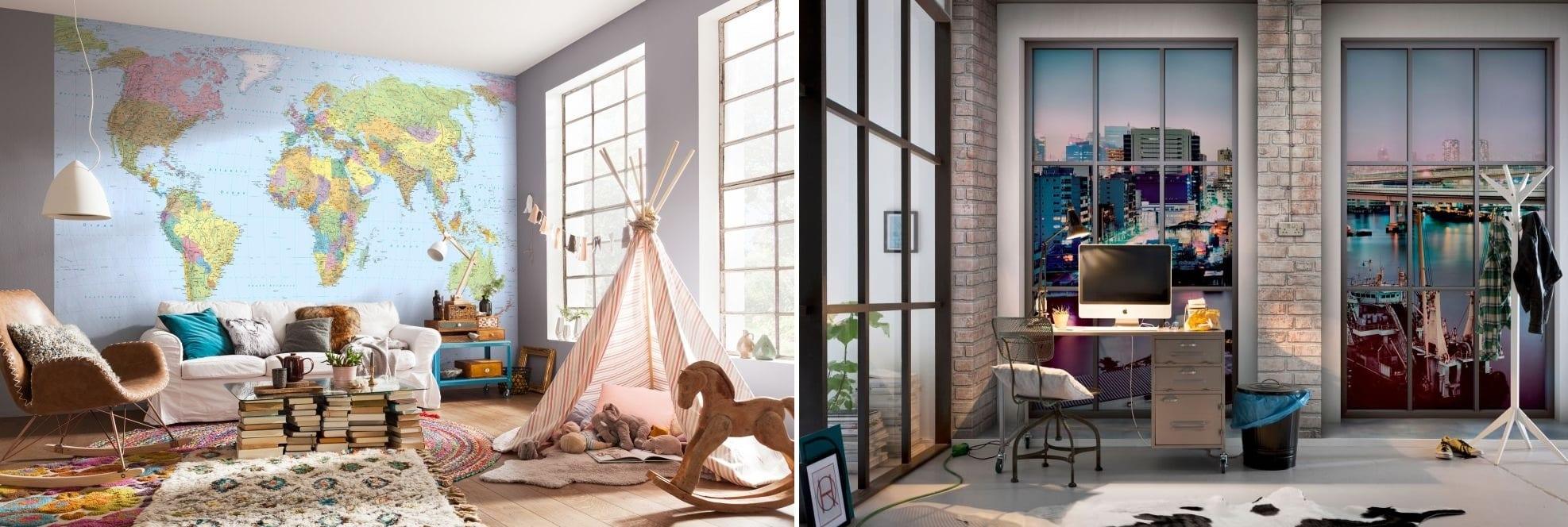 Vyšperkovaný interiér? Odpovědí jsou luxusní fototapety na zeď
