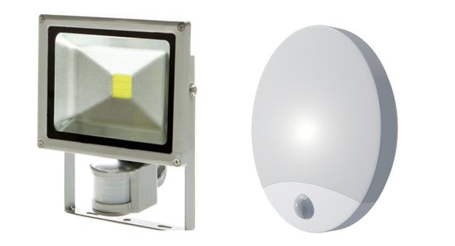 Využití venkovního osvětlení s pohybovými čidly