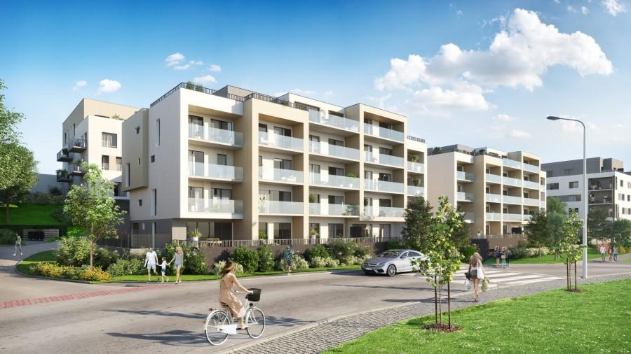Kde získat atraktivní bydlení v Praze? V rezidenční oblasti Byty u parku na Žižkově!